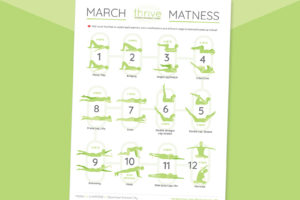 FREE PRINTABLE! Pilates March MATness Series